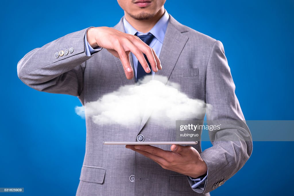 Cloud Computing digital communication : Stock Photo