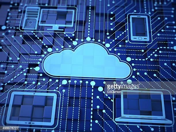 computação em nuvem - nuvem - fotografias e filmes do acervo