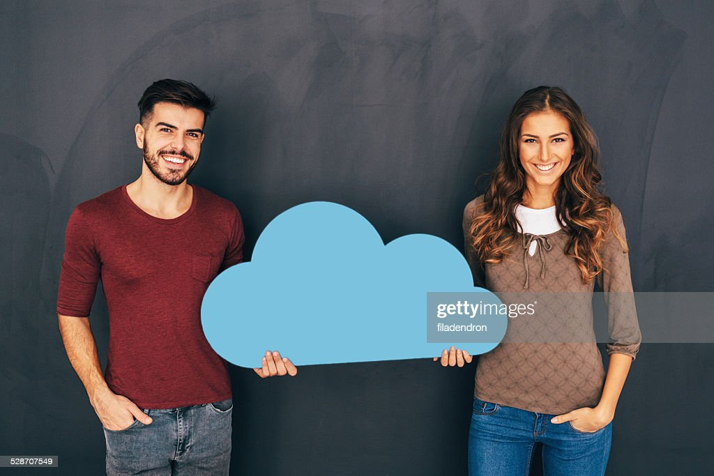 Cloud computing : Stock Photo