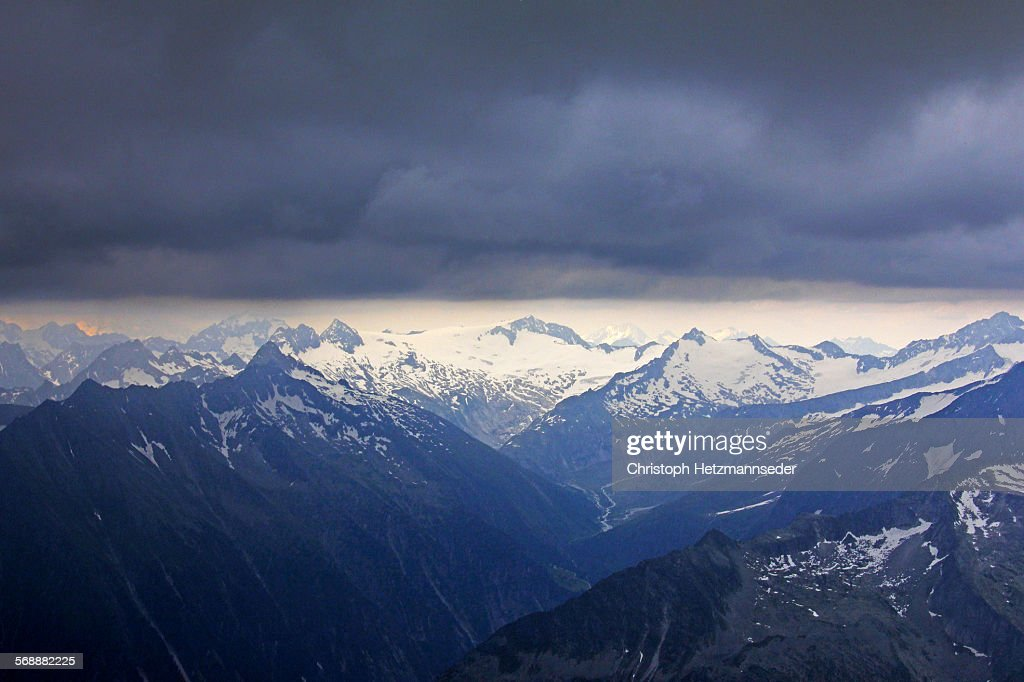 Cloud cover : Stock Photo