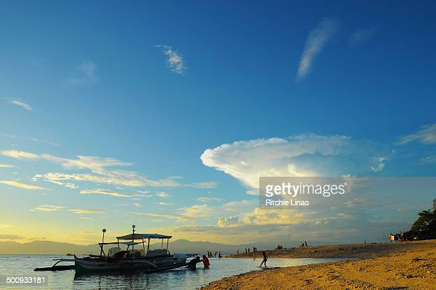 cloud explosion - cebu stock photos and pictures