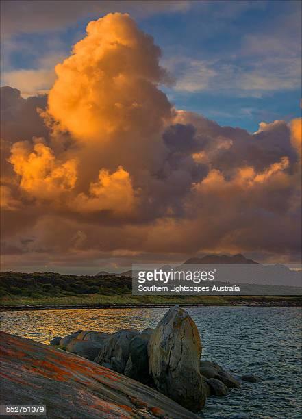Cloud formation Sawyers bay