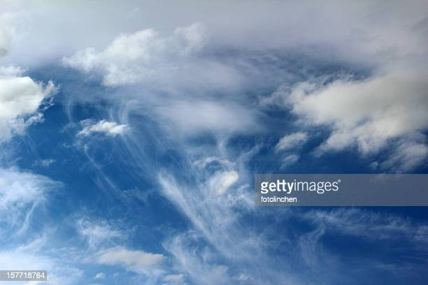 Cloud formations - face on sky