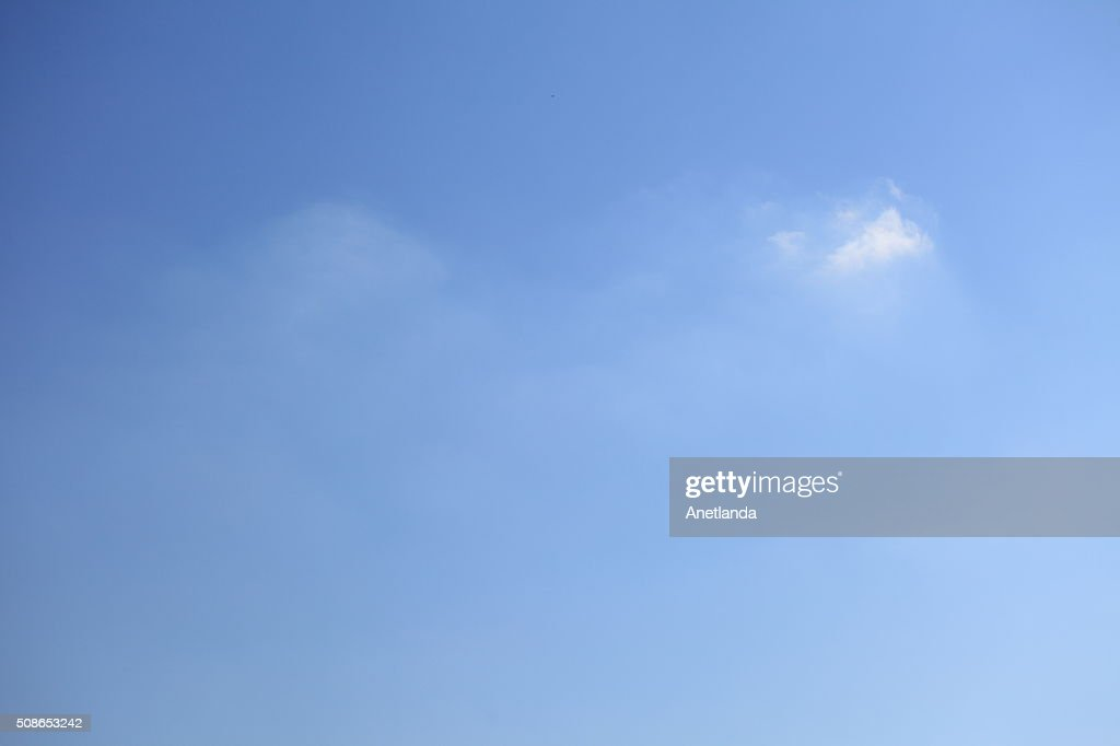 cloud in blue sky : Stock Photo
