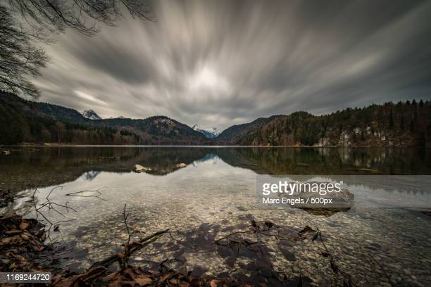 cloud invasion - bayern stock pictures, royalty-free photos & images
