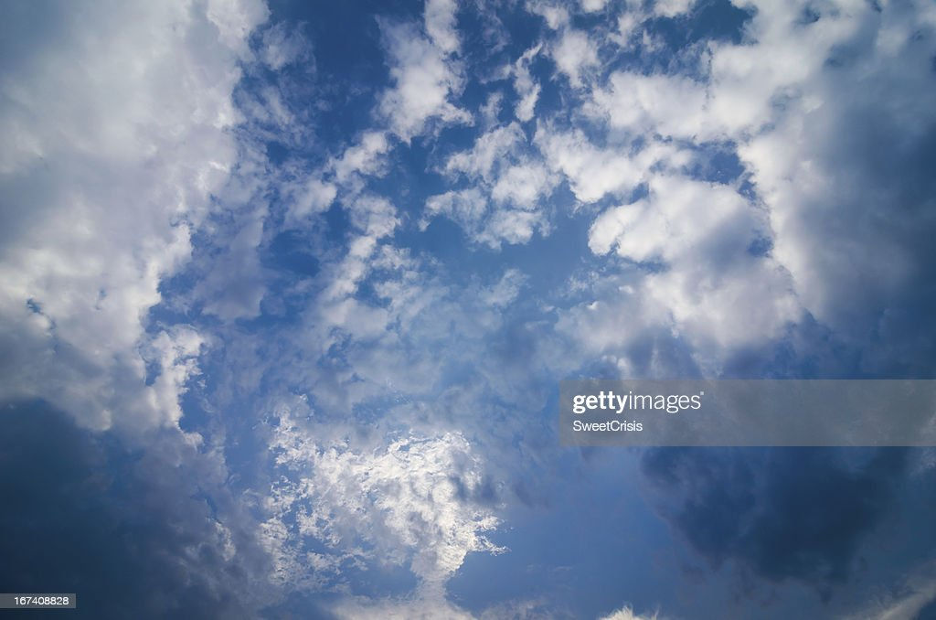 Cloud light sky : Bildbanksbilder