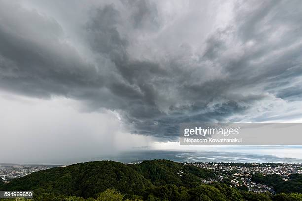 A cloud of thunderstorm