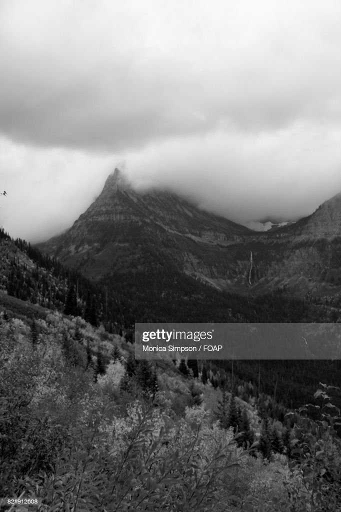 Cloud over the mountain : Stock Photo