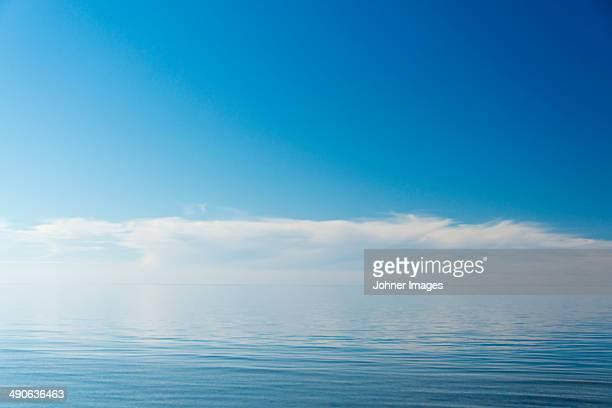 Cloud reflecting in sea, Gotland, Sweden