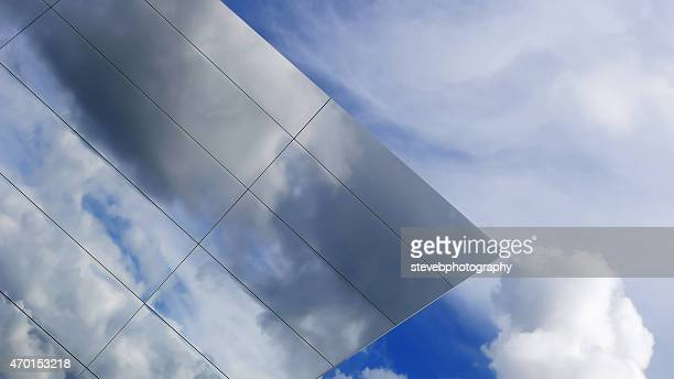cloud reflections - stevebphotography stock pictures, royalty-free photos & images