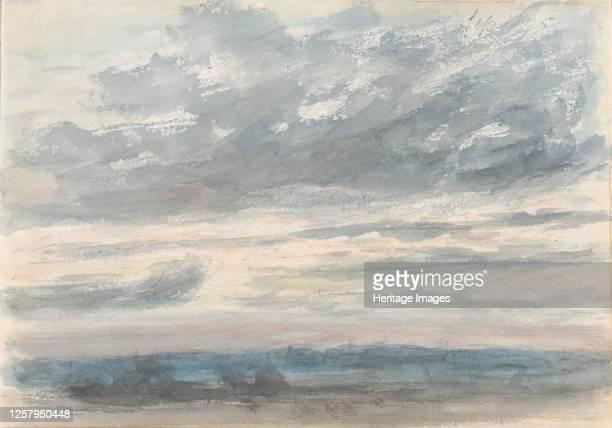Cloud Study, 1830-35. Artist John Constable.