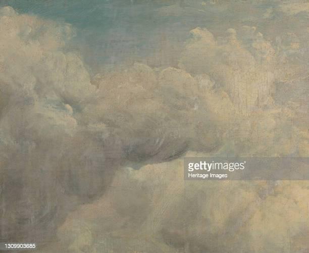 Cloud Study, ca. 1821. Artist John Constable. .