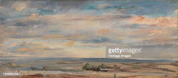Cloud Study, Early Morning, Looking East from Hampstead;Cloud Study over Marshlands;View over Hampstead Heath Looking East from Hampstead;Cloud Study...