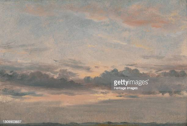 Cloud Study, Sunset;Cloud Study, Sunset, ca. 1821. Artist John Constable. .