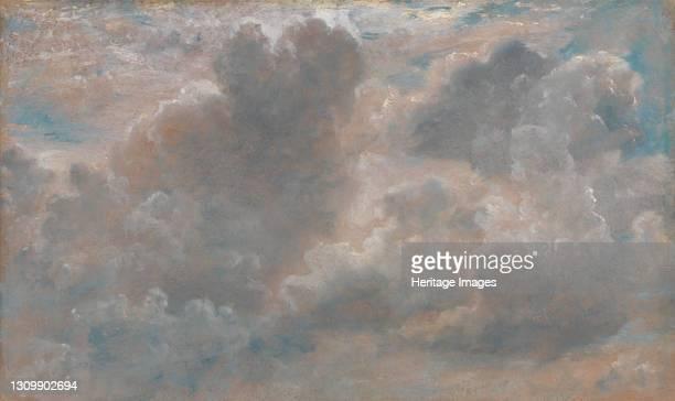 Cloud Study;Study of Cumulous Clouds;Cumulus Clouds, 1822. Artist John Constable. .