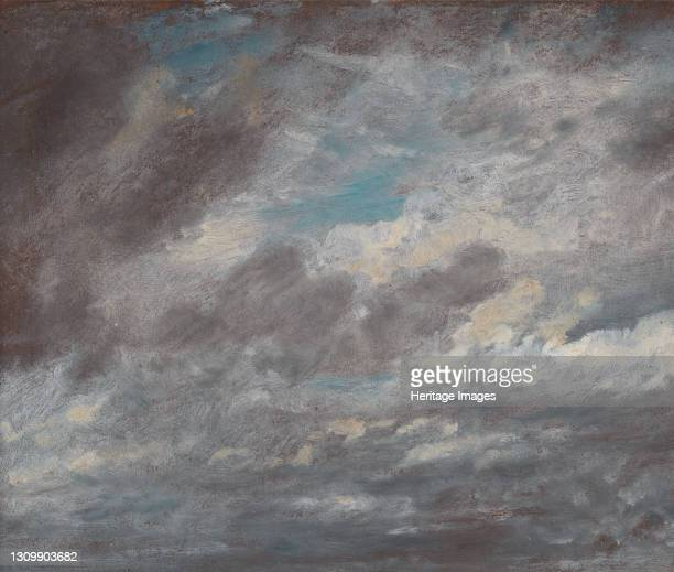 Cloud Study;Wild Cloud Study, ca. 1821. Artist John Constable. .