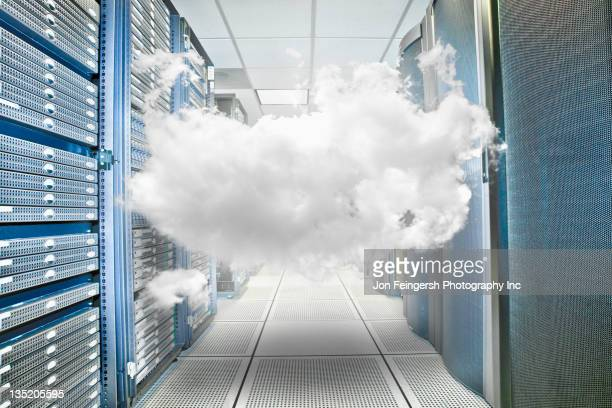 Cloud gefangen in server-Raum