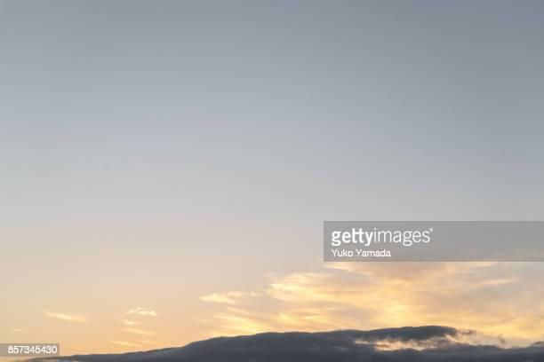 Cloud Typologies - Dramatic Sky During Sunset