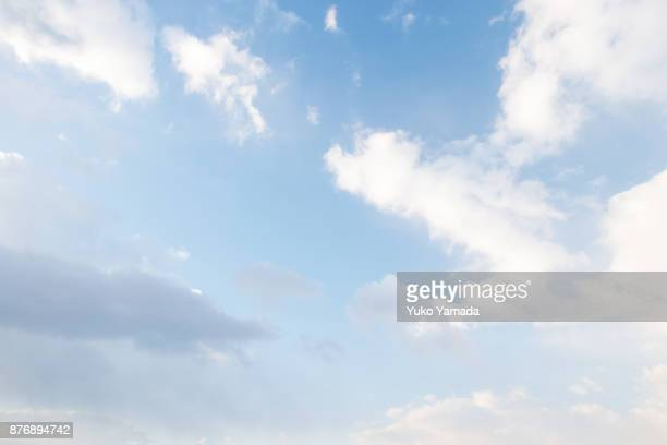 cloud typologies - morning sky - free walpaper stock photos and pictures