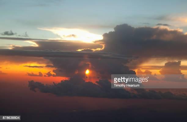 cloud typologies - timothy hearsum stockfoto's en -beelden