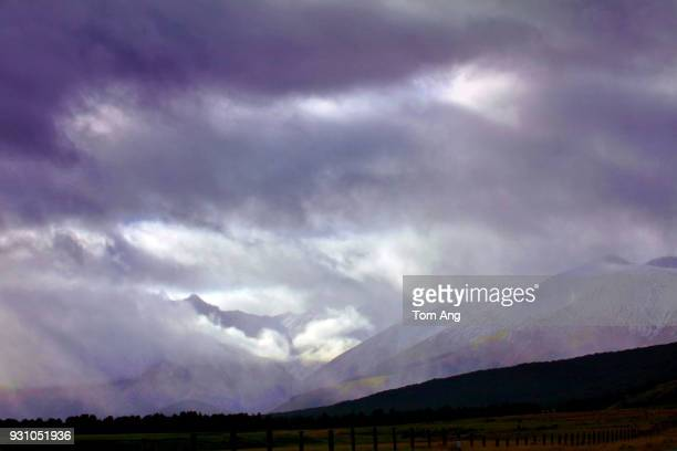 cloud typologies - invercargill stock pictures, royalty-free photos & images