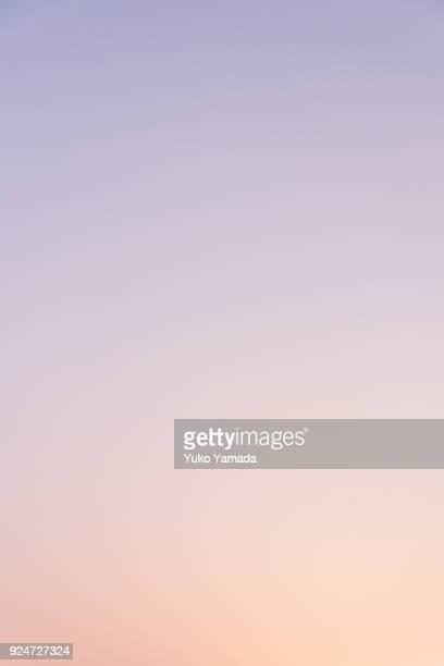 Cloud Typologies - Romantic Sky at Twilight