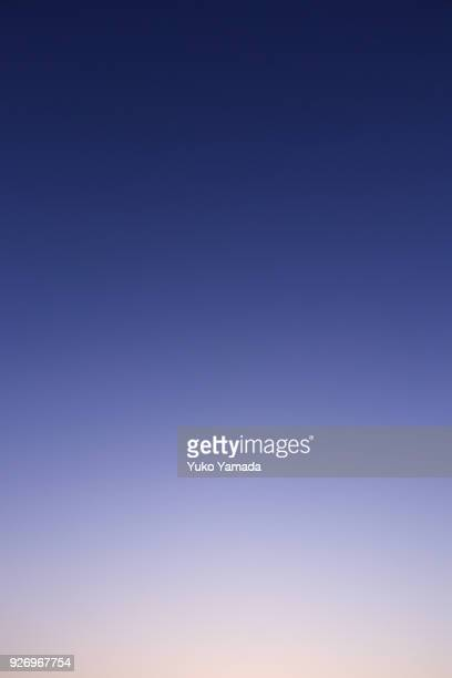 cloud typologies - romantic sky at twilight - twilight stock pictures, royalty-free photos & images