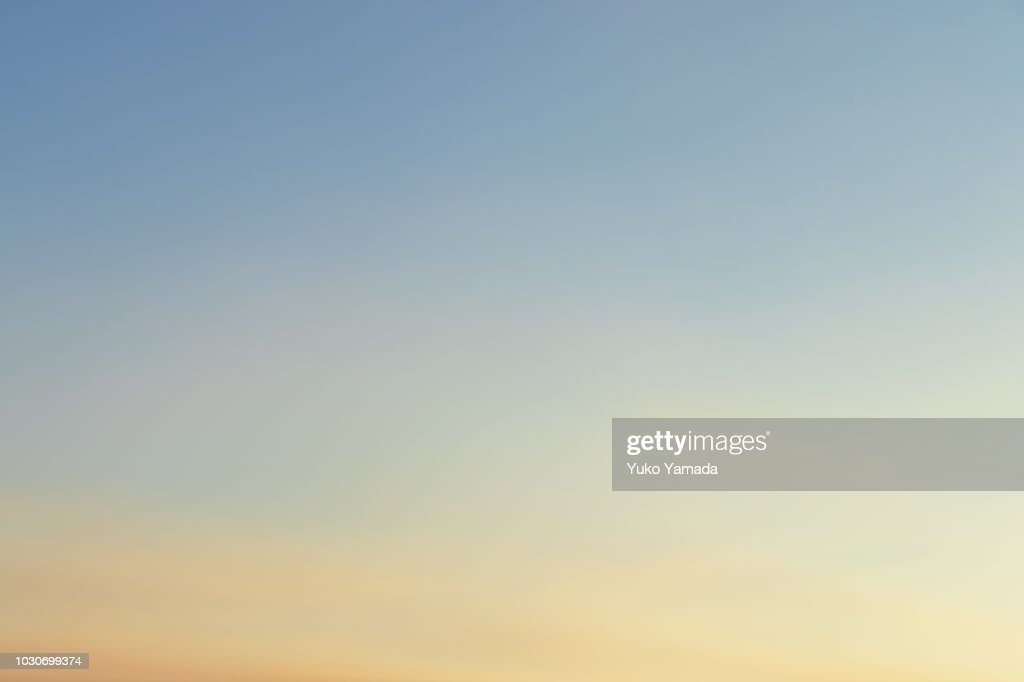 Cloud Typologies - Twilight : Stock Photo