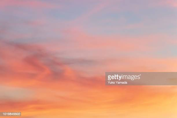cloud typologies - twilight sky - dusk stock pictures, royalty-free photos & images