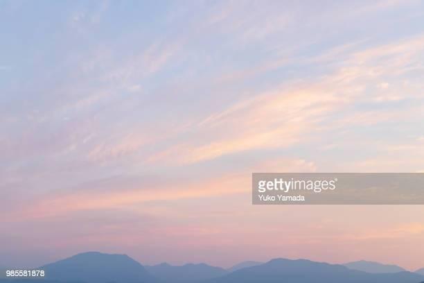 cloud typologies - twilight sky - 六月 ストックフォトと画像