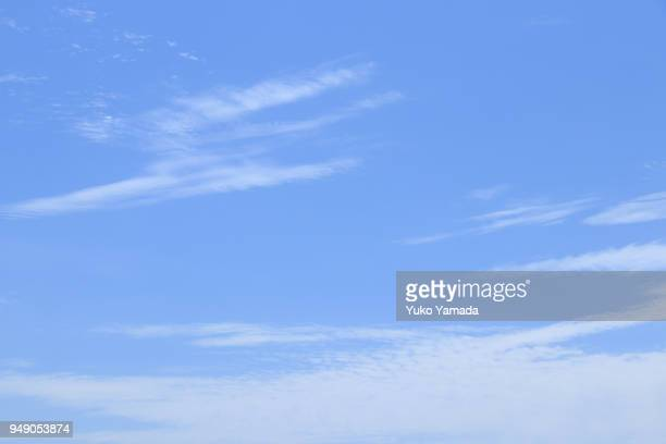 Cloud Typologies - White Clouds and the Blue Sky