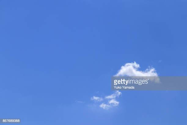 Cloud Typologies - White Clouds in the Blue Sky