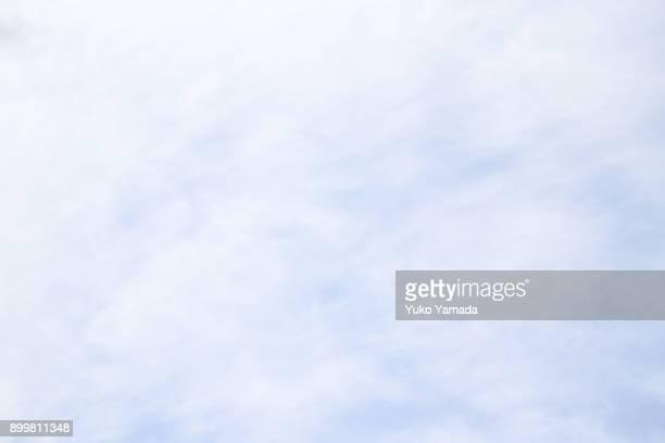 Cloud Typologies - Winter Clouds