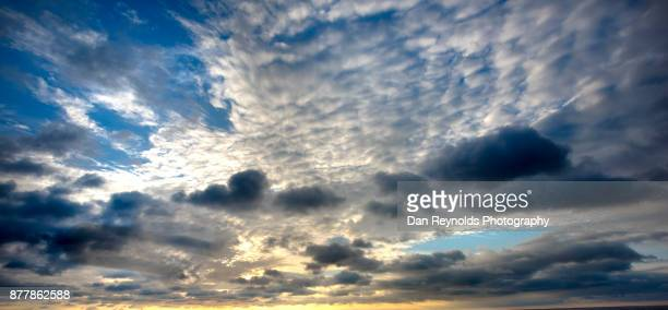 Cloud Typologies-Dramatic Clouds at Sunset