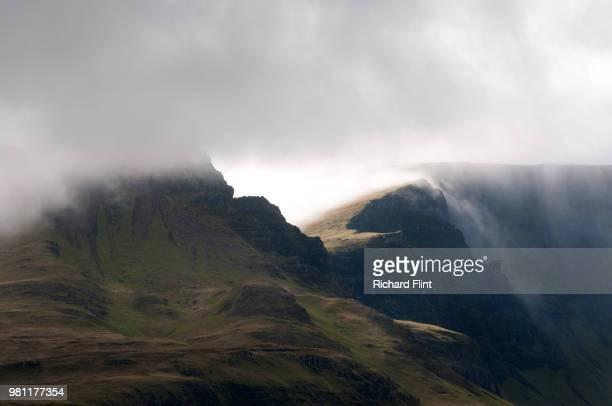 Cloudfall on Trotternish, Skye