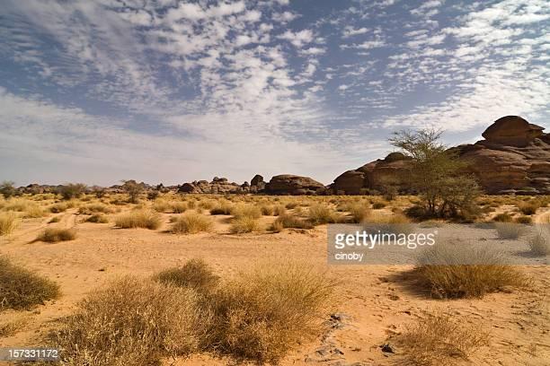 Wolken und Desert