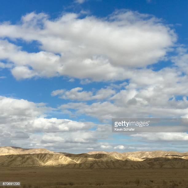 Clouds and prairie, Carrizo Plain National Monument