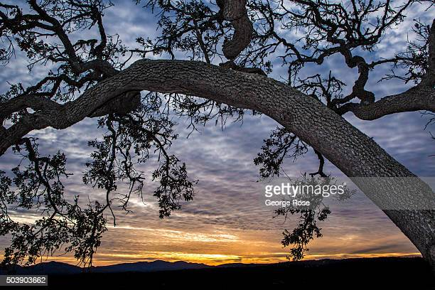 Clouds and rain move into the region on January 2 in Solvang California Because of its close proximity to Southern California and Los Angeles...