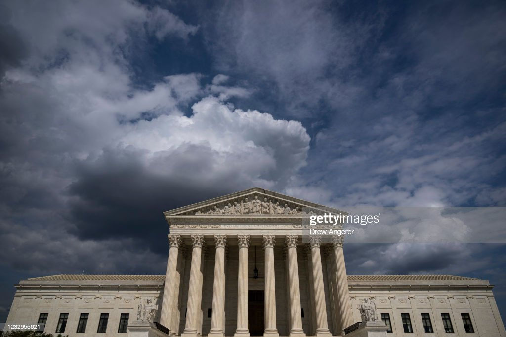 U.S. Supreme Court To Hear Mississippi Case That Could Threaten Abortion Rights : News Photo