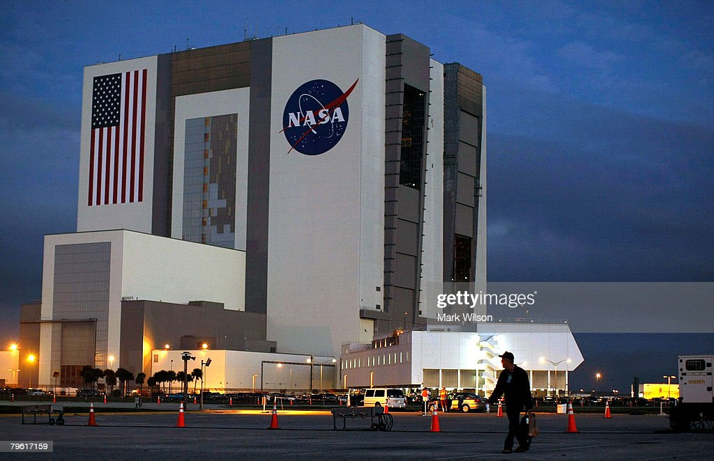 NASA Prepares To Launch Space Shuttle Atlantis : News Photo