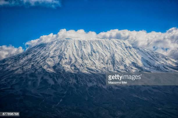 Clouds around Kilimanjaro