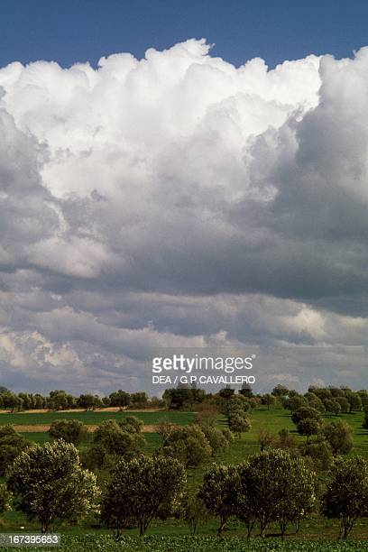 Clouds around Troy Turkey