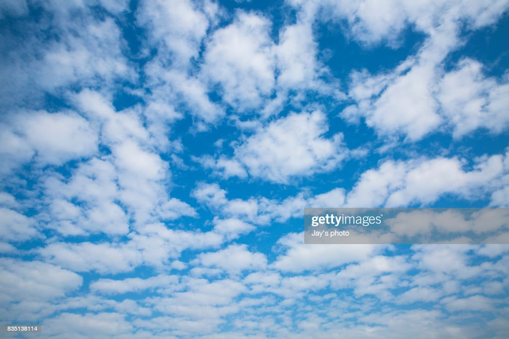 Clouds in blue sky : ストックフォト