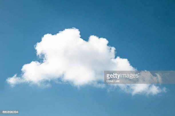 clouds in blue sky - cloud stock photos and pictures