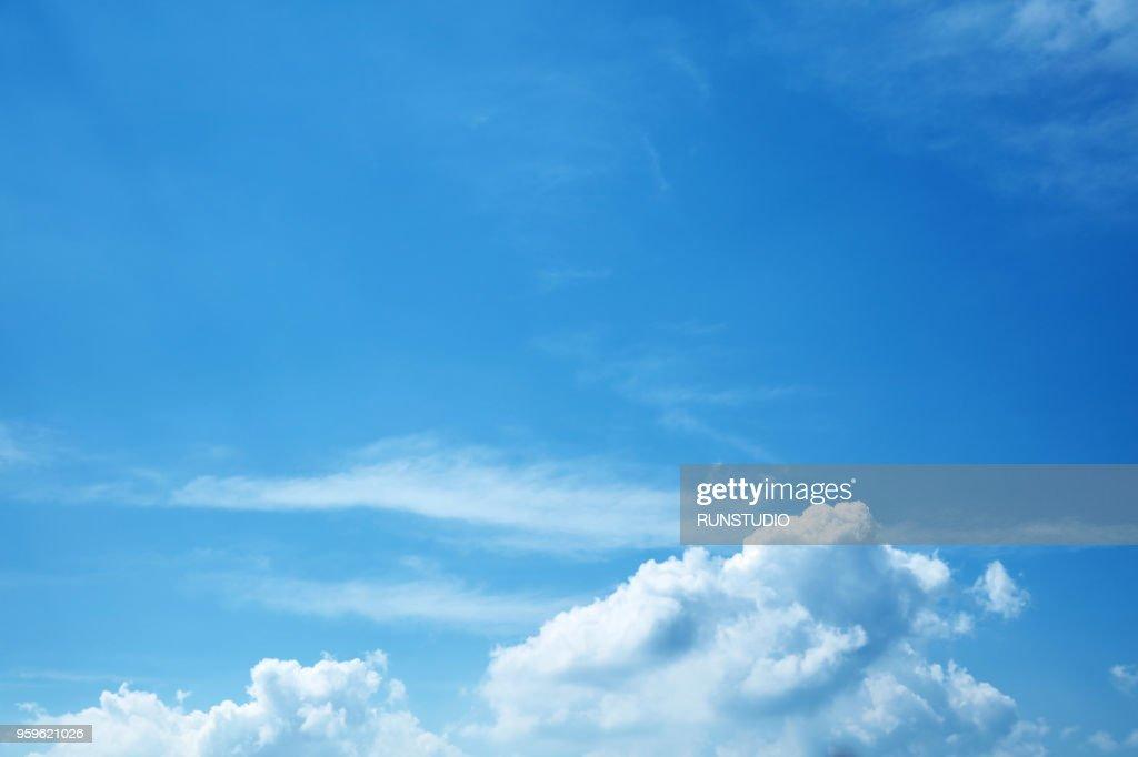 Clouds in blue sky : Stock-Foto