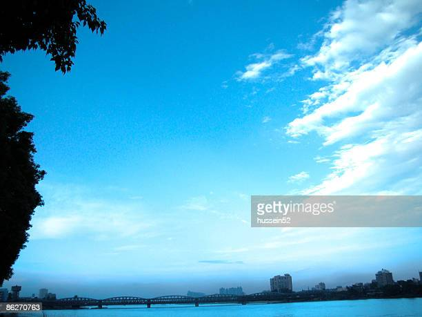 clouds in sky - hussein52 stock photos and pictures
