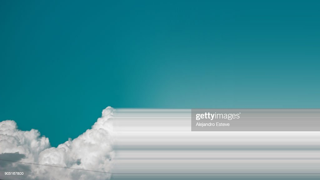 Clouds in sky : Stock Photo