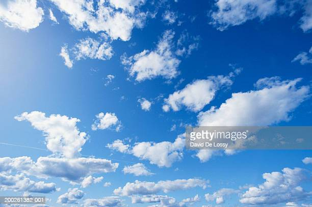 Clouds, low angle view