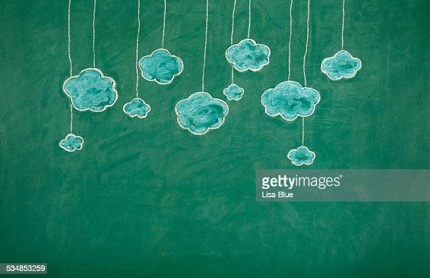 Clouds on Blackboard