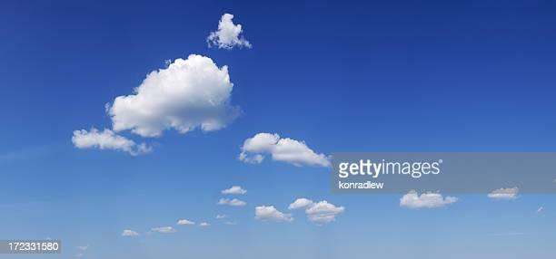 Nuages sur le ciel